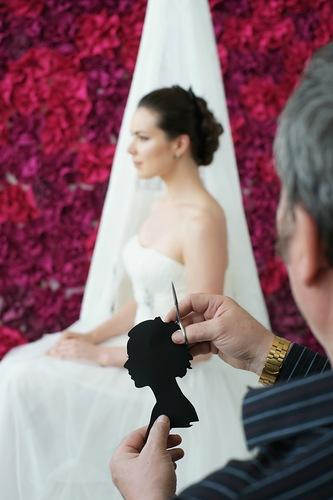 Силуэтист на свадьбу